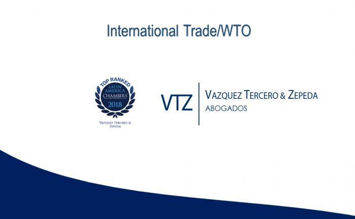 Chambers 2018, VTZ, Top Mexican Law Firm, International Trade, Customs