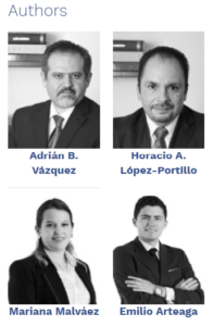 Adrian B. Vazquez, Mariana Malváez, Emilio Arteaga, Top Mexican Lawyers, Trade, Best Law Firm