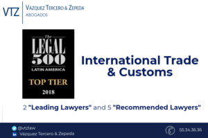Top Despacho de Abogados en mexico, comercio exerior, Top law Firm in Mexico, Guide Legal 500, Ranking de Abogados