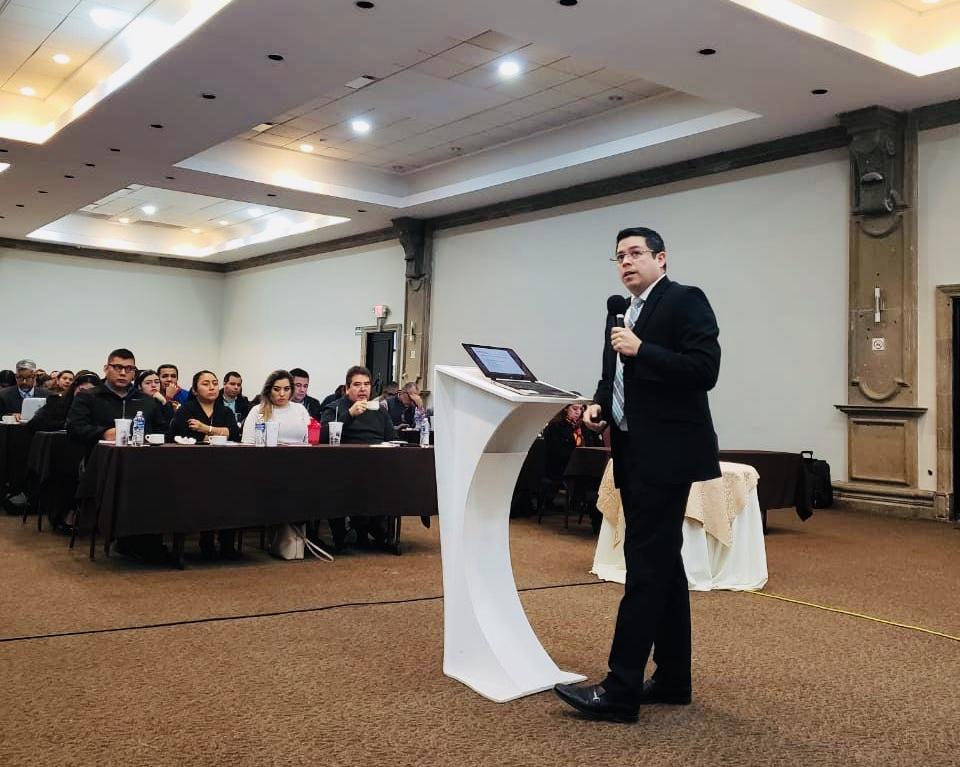 Edgar Corona, socio de VTZ, expone sobre las mercancías sensibles en el foro Index