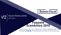 Resumen del Paquete Económico 2019, Presupuesto, Política Económica 2019, Ley de Ingresos, Ley de Egresos, AMLO, Jorge Montes