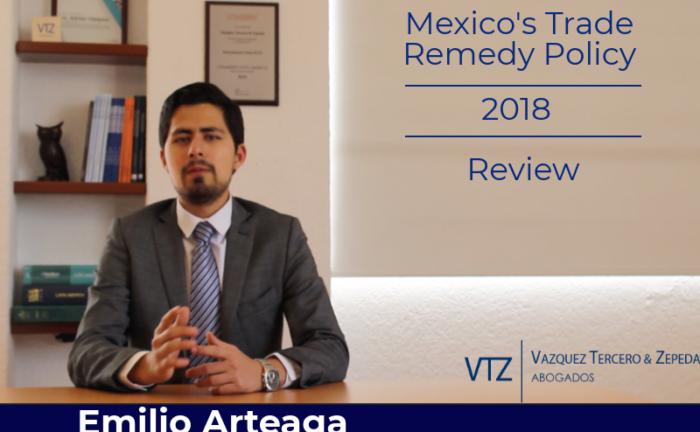 Emilio Arteaga Vázquez, Trade Remedies in Mexico, Antidumping in Mexico, Trade Lawyer in Mexico