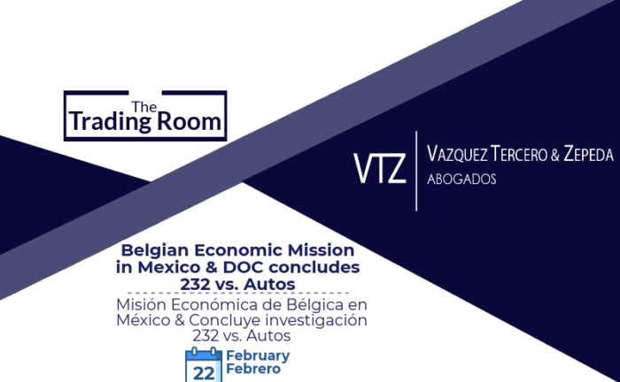 Belgian Economic Mission in Mexico, DOC 232 Report on Autos, Mexican Trade Lawyers, Abogados Comercio Exterior