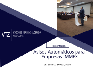 Presentación sobre Avisos Automáticos por Eduardo Zepda en evento Index Reynosa sobre Reformas