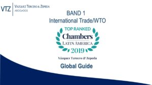 Chambers 2019 - Top Law Firm in Mexico, Best Lawyers in Mexico, International Trade