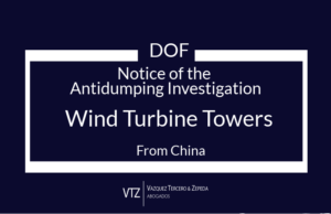 Trade Alert, Antidumping Investigation, Wind Turbine Towers from China, Trade Lawyers