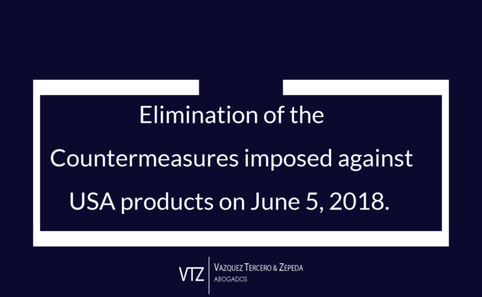 Elimination of Mexico Countermeasures against US Products, 232 measures