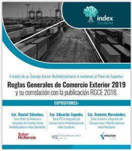 SAT, Comercio Exterior, Index Occidente, Reglas Generales de Comercio Exterior
