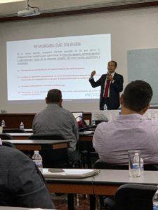 Jorge Montes, socio de VTZ, de la práctica Fiscal, propuesta de Reformas Fiscales en el Colegio de Contadores Públicos de Guadalajara, Paquete Ecónomico 2020 presentado en el 8 de septiembre de 2019 por el Ejecutivo Federal ante el Congreso de la Unión.