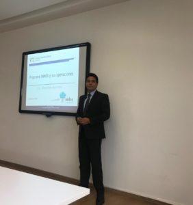Alejandro Martinez Rivera, Abogado Comercio Exterior, VTZ, en Index Occidente exponiendo sobre IMMEX
