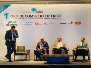 "Primer Foro Nacional de Comercio Exterior de Index Nacional, Eduardo Zepeda, socio de VTZ, ""Mejores prácticas en Auditorías de Comercio Exterior"", Programa IMMEX"