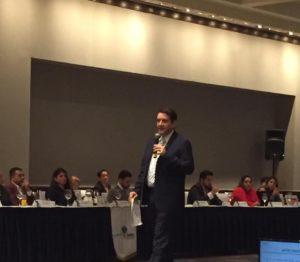 Eduardo Gonzalez Socio de VTZ en INDEX Occidente, Exposición Presentación sobre Reforma Penal Fiscal, SAT, Delincuencia Organizada