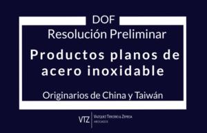 Investigación antidumping sobre las importaciones de productos planos de acero inoxidable originarios de China y Taiwán, Exportadoras de productos planos de acero inoxidable, cuotas compensatorias para productos planos de acero inoxidable