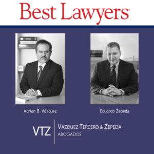 The Best Lawyers in Mexico 2020, Los Mejores Abogados de México 2020, Guía Ranking de Abogados, International Trade,, Tax Law, Trade Law, Adrian B Vazquez Eduardo Zepeda Grimaldo, Recognized Lawyers,