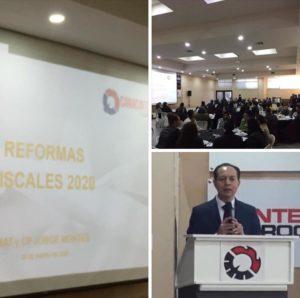 Reforma Fiscal 2020, CANACINTRA, IVA, IEPS, ISR, Código Fiscal de la Federación, Facturación falsa, asesoría fiscal