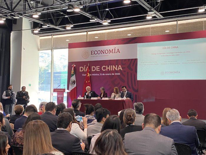 Inversión china en México, intercambio comercial México-China, China, Día de China en la Secretaría de Economía, oportunidades de negocio México-China, inversión,