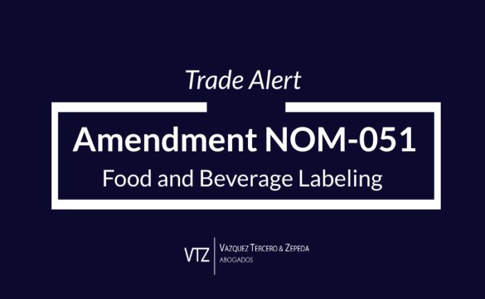Front Warning Labels, Food and Beverages Labeling