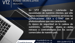Cadenas de Suministro, Cadenas de Valor, OEA, Operador Económico Autorizado, C-TPAT, Maquiladoras, Logística, Renovación Certificacion IVA IEPS