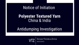 Antidumping Investigation on Polyester Texturized Yarn from China and India