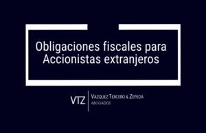 Obligaciones fiscales para accionistas extranjeros en México, inscripción en el Registro Federal de Contribuyentes, accionistas extranjeros