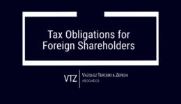 Shareholders of Mexican company, Registration in Federal Taxpayer Registry