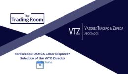 USMCA Labor Disputes, WTO, Webinar, VTZ, Trade Lawyers, Mexico