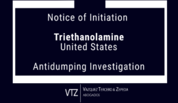 Antidumping Investigation in Mexico Notice of initiation TRIETHANOLAMINE from the USA