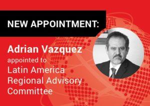 Adrián Vázquez, Abogado de Comercio Exterior, América Latina, Alliott Group