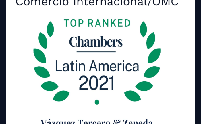 Leading Mexican Lawyers International Trade, Chambers and Partners 2021 - Latin America