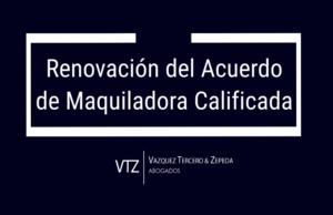 El Servicio Interno de Renta (IRS) de Estados Unidos informó sobre la renovación del Acuerdo de Maquiladora Calificada (Qualified Maquiladora Approach Agreement) con el Servicio de Administración Tributaria (SAT) de México, doble tributación por operaciones de maquila