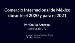 Comercio Internacional, Mexico, 2020, 2021, TMEC, Aranceles, TIPAT, Tratados de Libre Comercio, Reglas de Origen,