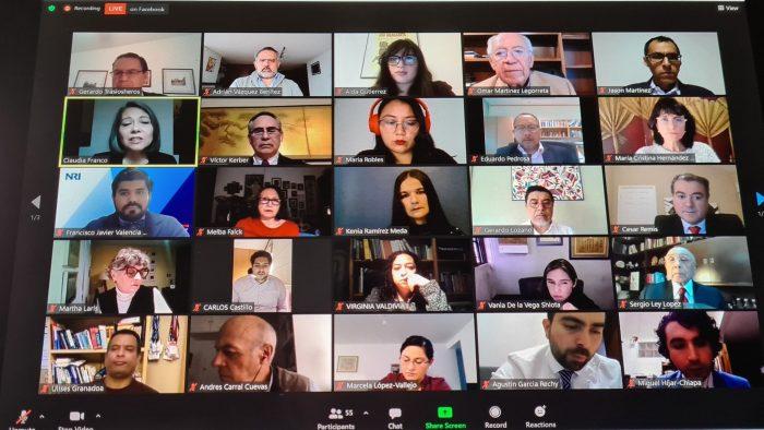 Adrián Vázquez, socio principal de VTZ, y Susana Muñoz, directora del Chinese Desk de VTZ, asistieron al relanzamiento del Capítulo Mexicano del Consejo de Cooperación Económica del Pacífico (PECC), al que asistieron funcionarios gubernamentales de alto nivel.