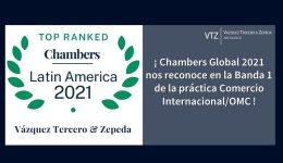 abogados especialistas en comercio internacional, ranking legal comercio internacional, firma lider en comercio internacional,ranking legal Chambers and Parteners 2021