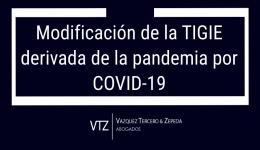 Modificación de la TIGIE derivada de la pandemia por COVID-19, creación de tres fracciones arancelarias para identificar la vacuna y los tanques de oxigeno, supresión de una fracción arancelaria, modificación de aranceles temporales de vacunas contra el COVID-19 y tanques para oxígeno de uso medicinal