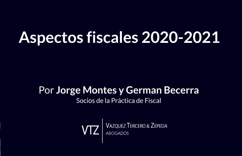 Tendencias Fiscales 2020-2021