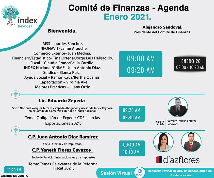 CFDIs en Exportaciones 2021 | Index Reynosa