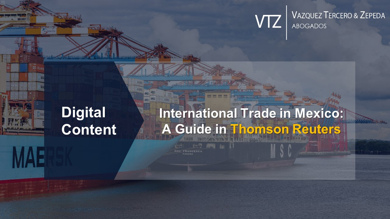 International Trade in Mexico: A Guide by VTZ in Thomson Reuters