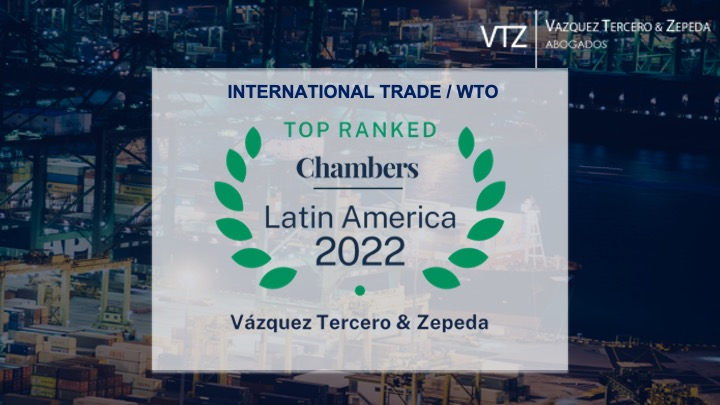 VTZ LEADING FIRM IN INTERNATIONAL TRADE – CHAMBERS 2022