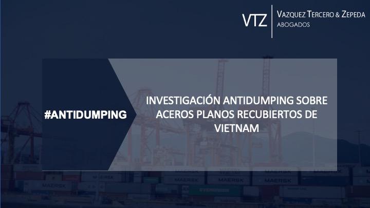 Investigación antidumping acero plano recubierto de Vietnam