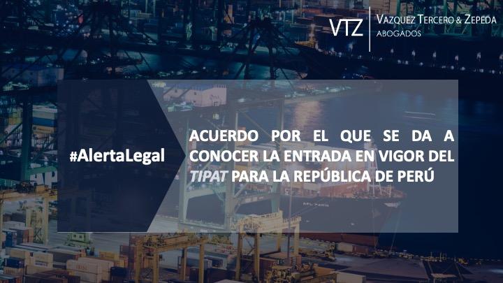 Mexico-Peru, la relación comercial a la luz del TIPAT